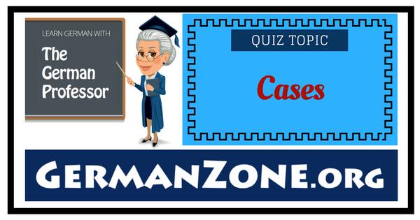 German cases
