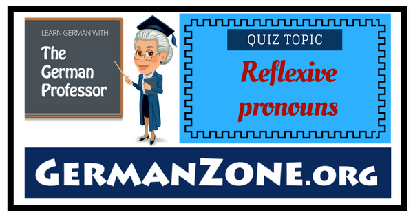 German reflexive pronouns