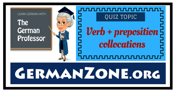 Verb + preposition collocations