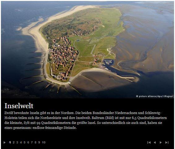 Deutsche Welle: 10 Gründe für die Nordsee