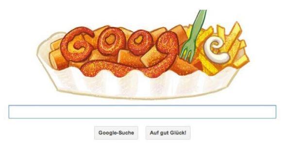 Google Doodle Currywurst