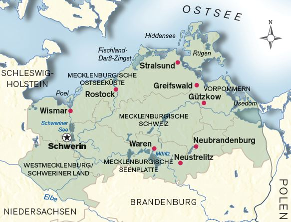 Urlaubsziel-Mecklenburg-Vorpommern